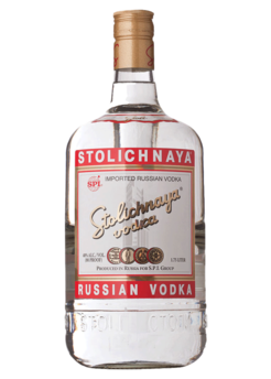 Stolichnaya Vodka (Non-Flavored)